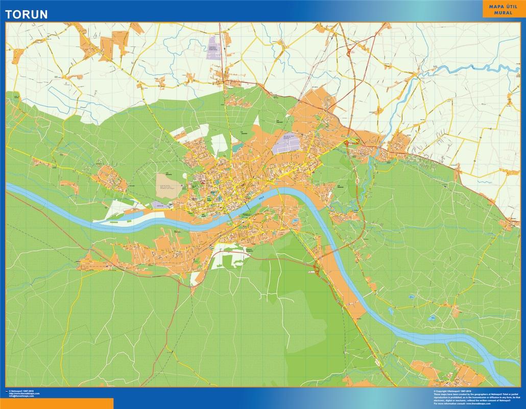 Torun Mapy Scienne Vector World Maps