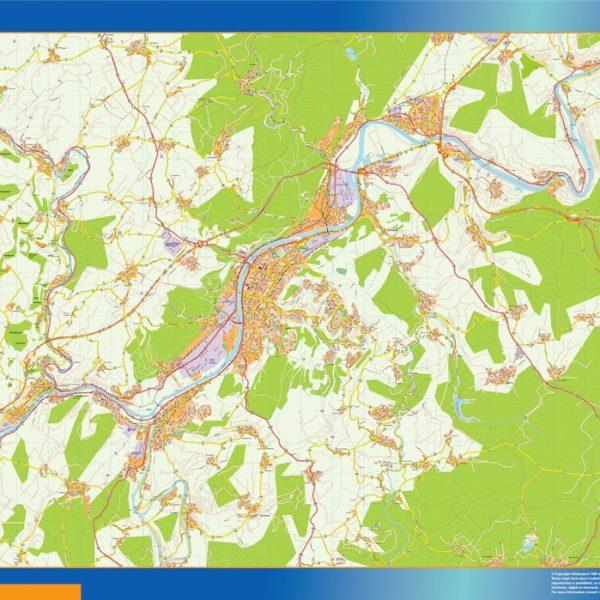 Trier Wandkarten