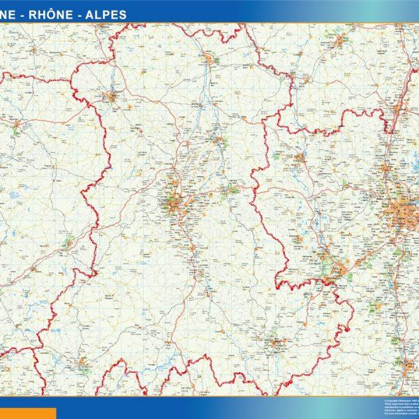 carte magnetique auvergne rhone alpes