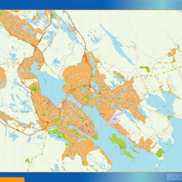 halifax magnetic map