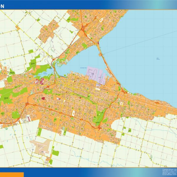 hamilton magnetic map