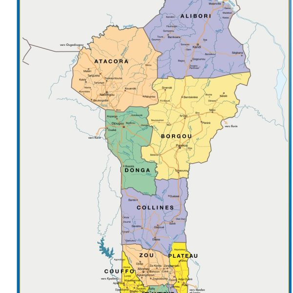 magnetic map benin