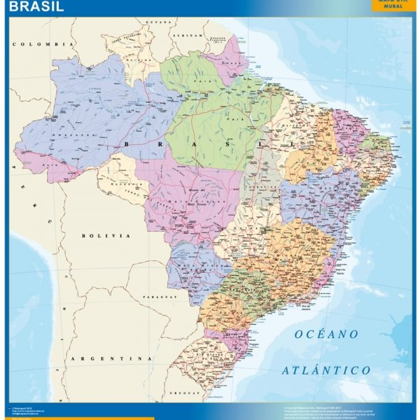 magnetic map brazil