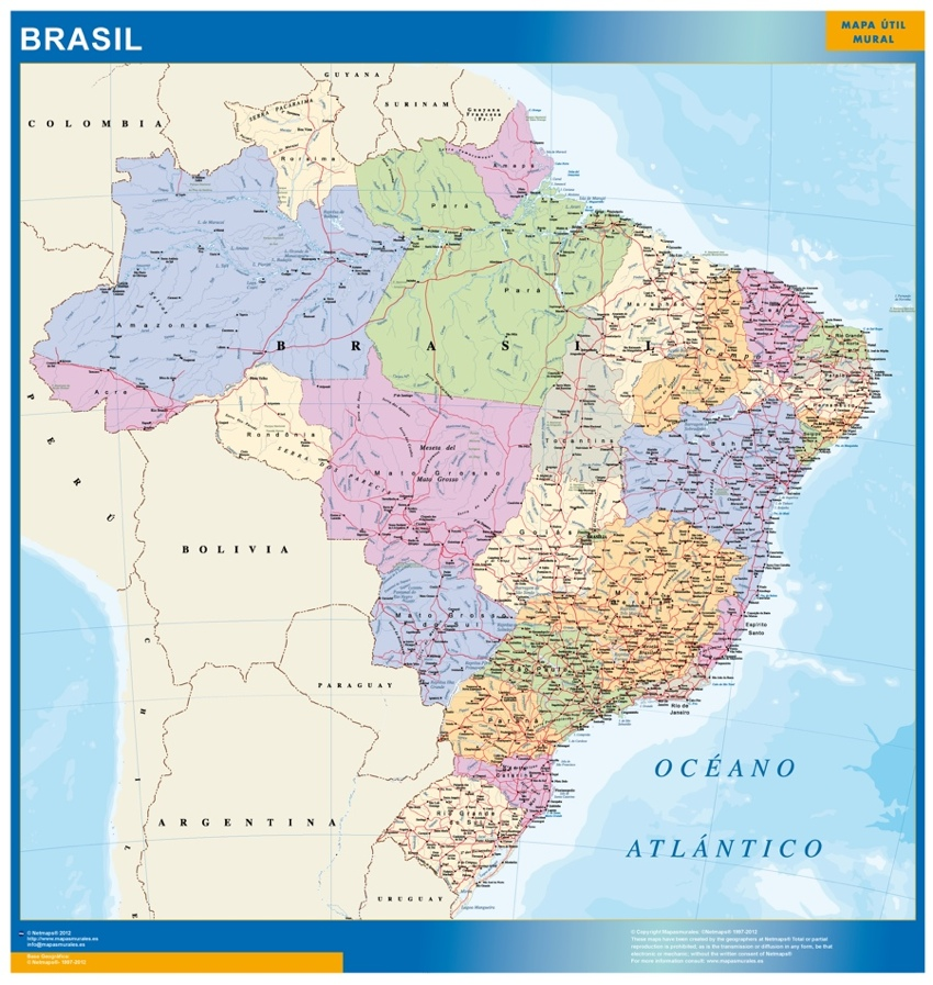 Magnetic map brazil our cartographers have made magnetic map brazil magnetic map brazil gumiabroncs