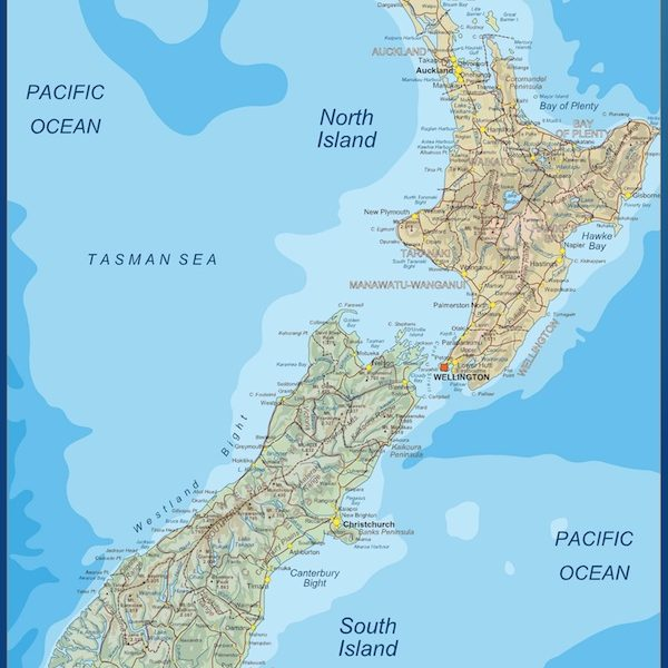 magnetic map new zealand