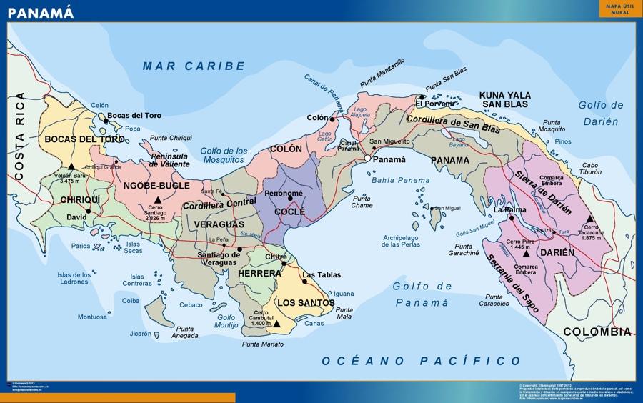 magnetic map panama on carti panama, large map of panama, atlas de panama, flag de panama, david panama, continental divide panama, rep de panama, mapa de panama, political map of panama, country of panama, map of panama central america, map of panama canal waterway, poblacion de panama, portobelo panama,