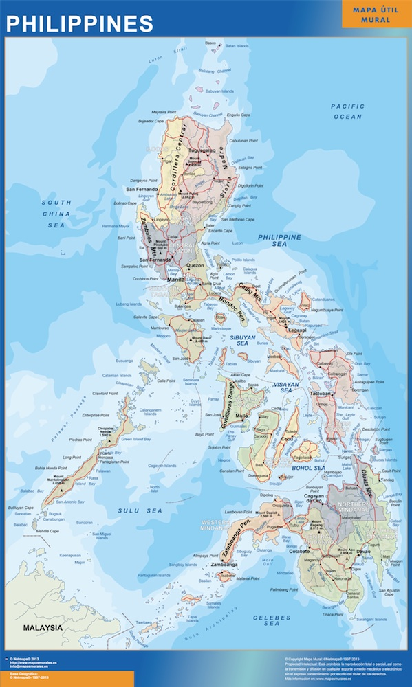 Magnetic Map Philippines Vector Maps