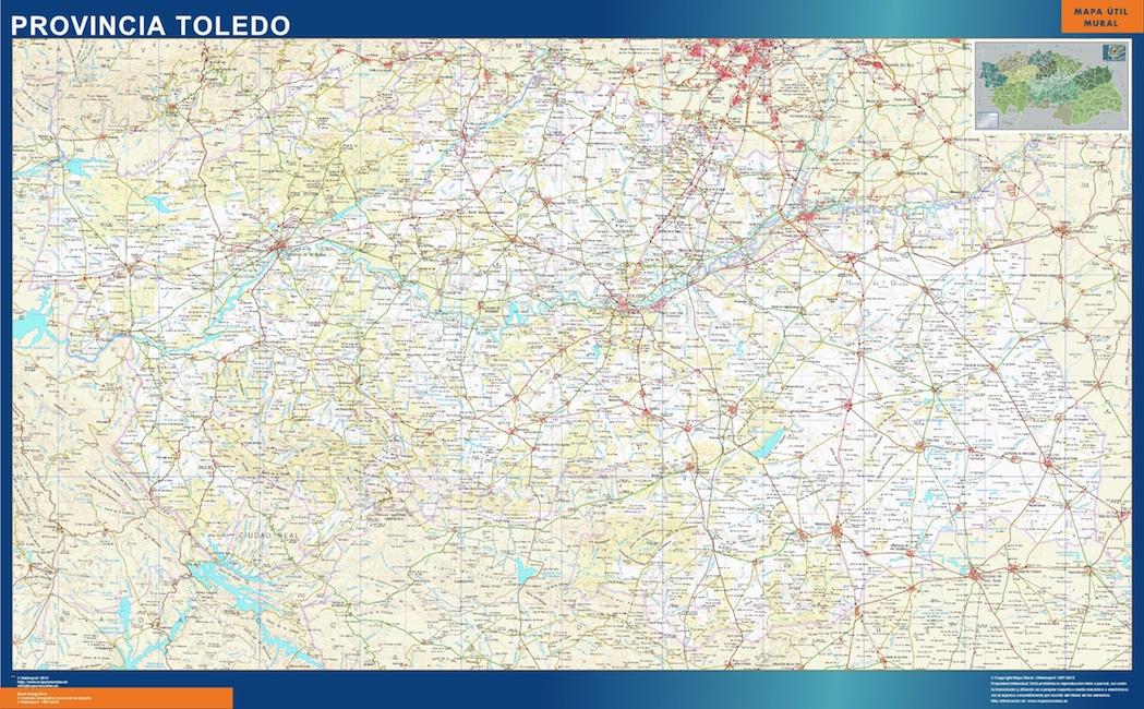 Mapa Provincia Toledo Magnetico Vector World Maps