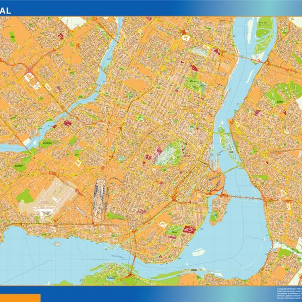 montreal magnetic map