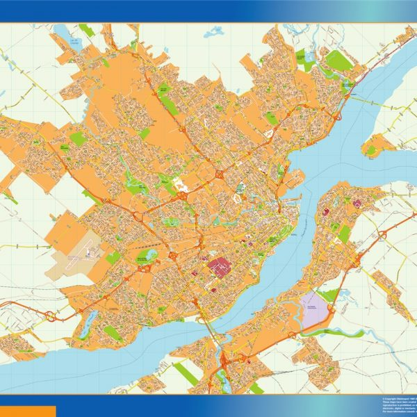 quebec magnetic map