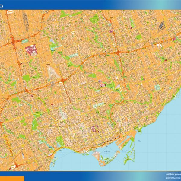 toronto magnetic map