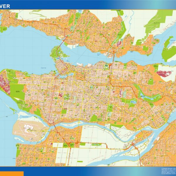 vancouver magnetic map
