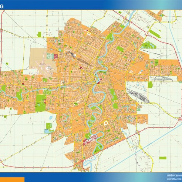 winnipeg magnetic map