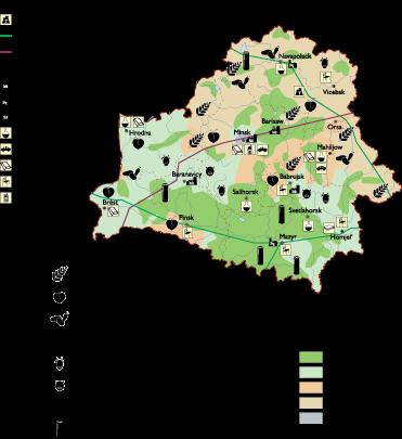 Belarus Economic map