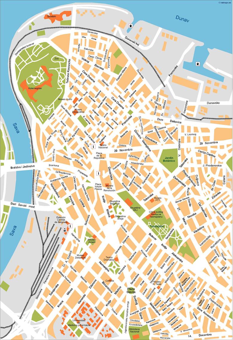 belgrade vector map our cartographers have made belgrade vector