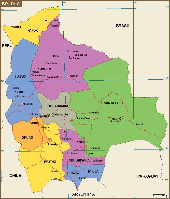 bolivia mapa Bolivia mapa | A vector eps maps designed by our cartographers  bolivia mapa