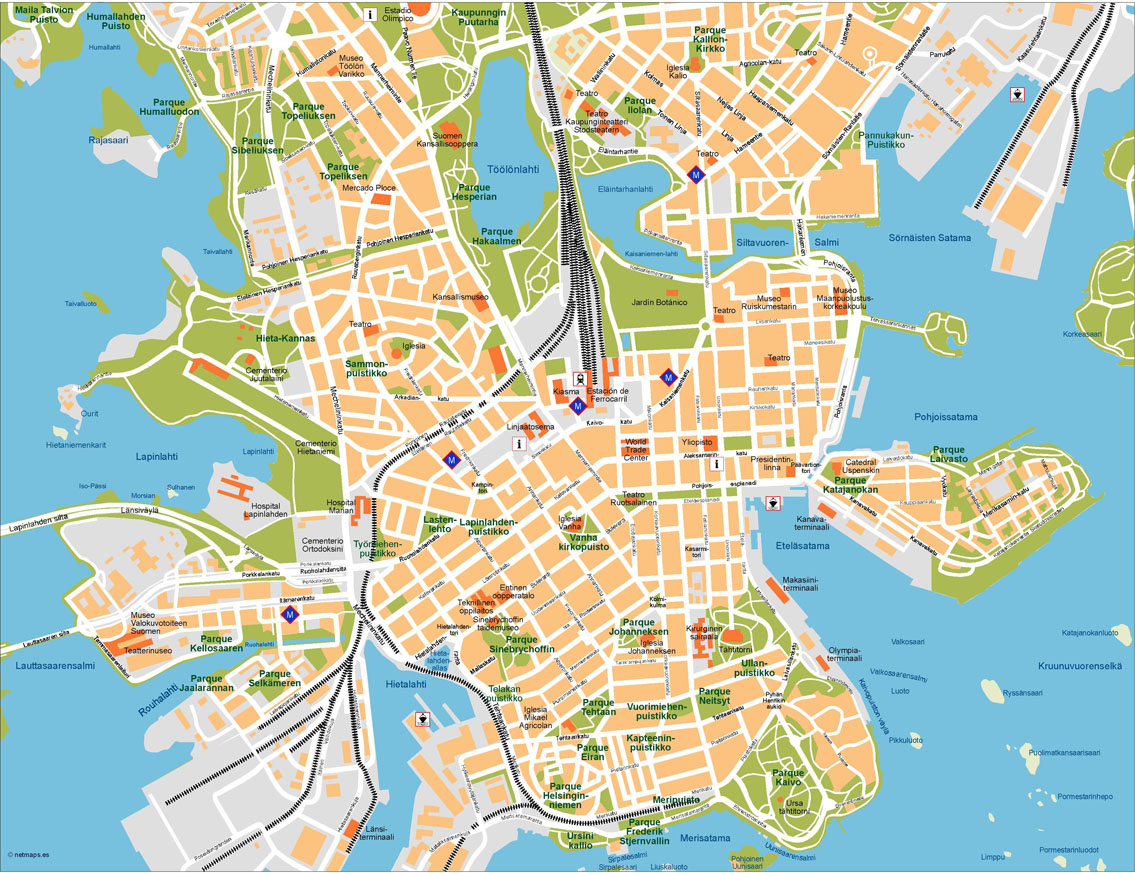 Helsinki Maps