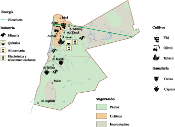 Jordan Economic Map Our Cartographers Have Made Jordan Economic - Jordan map download