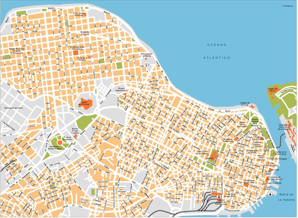 La Habana Map