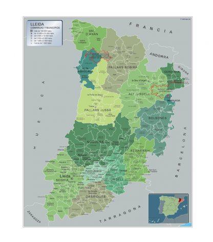 Mapa De Barcelona Provincia Y Pueblos Pagina 1