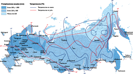 Russia Climate Map Our Cartographers Have Made Russia Climate - Austria climate map