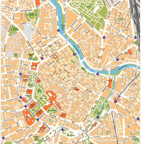 Vienna Vector Map