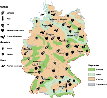 germany land use map