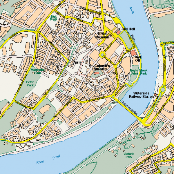 Londonderry EPS map
