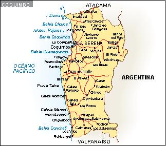Mapa Coquimbo