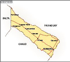 Mapa Formosa