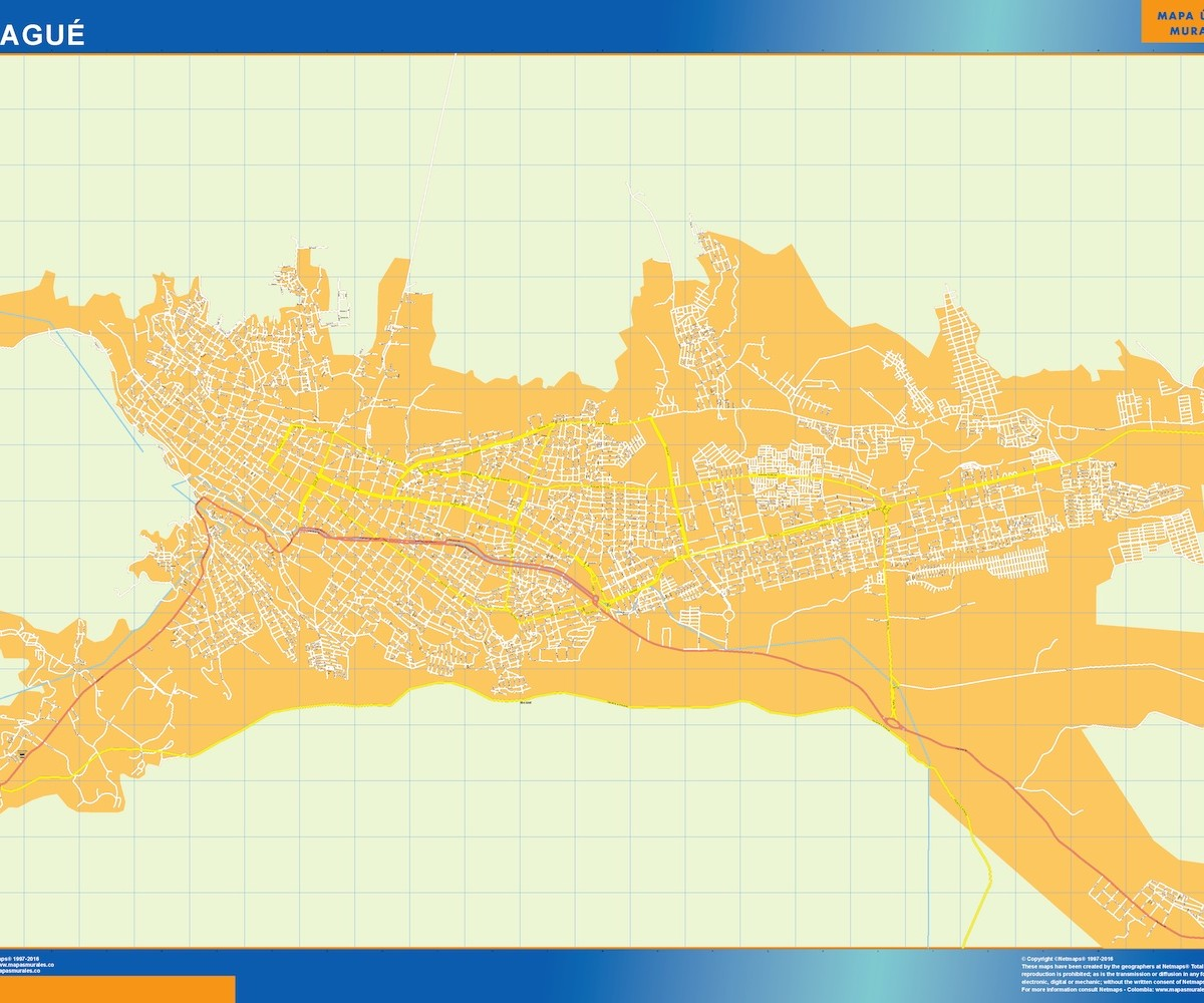 Mapa Ibague Our cartographers have made Mapa Ibague
