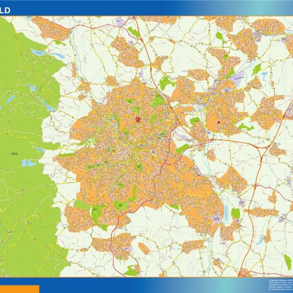 Sheffield Vinyl Map