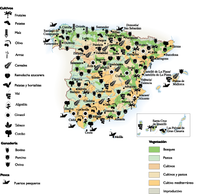 Spain Land Use map on land use maps usa, land use map germany, land use map england, land use map greece, land use map mexico, land use map france, land use map europe, landmark of spain, table of contents of spain, housing of spain,
